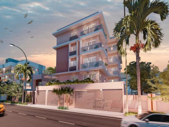 Proyecto de apartamentos en Los Prados Latterale