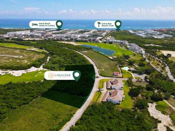Proyecto de Apartamentos Cana Cove enCana Bay Punta Cana